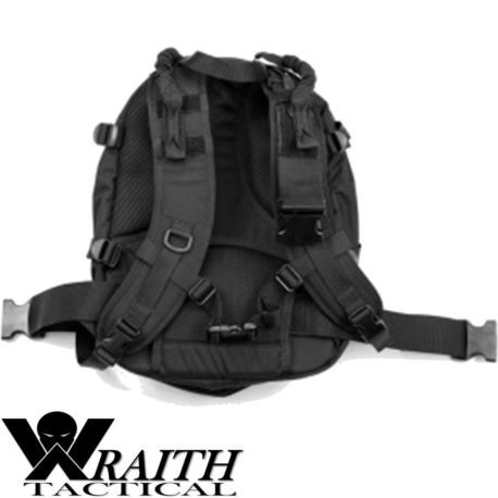 Wraith Tactical CARR Pack GEN 3 Black Not Deployed Front