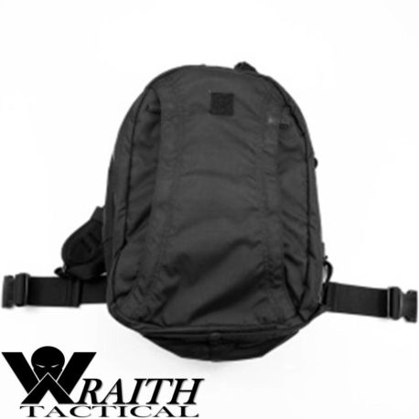 Wraith Tactical CARR Pack GEN 3 Black Not Deployed Rear