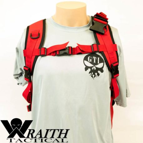 Wraith Tactical CARR Pack Red Front Not Deployed