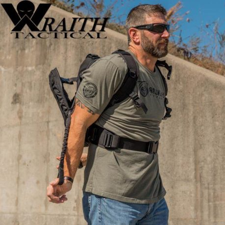 Wraith Tactical Bungee Strap In Use