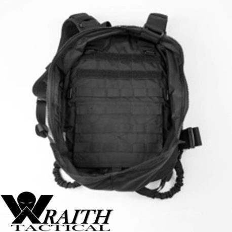 Wraith Tactical CARR Pack GEN 3 Black Deployed Rear