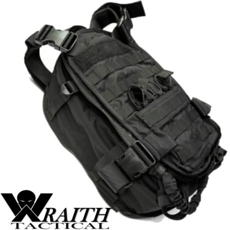 Wraith Tactical CARR Pack GEN 3 Black Deployed Side
