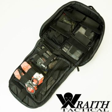 Wraith Tactical CARR Pack GEN 3 Utility Bag Large Black With Contents