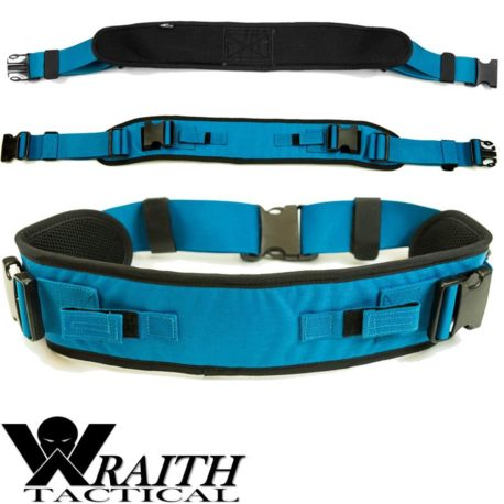 Wraith Tactical CARR Pack Hip Belt Blue