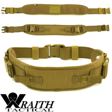 Wraith Tactical CARR Pack Hip Belt Coyote