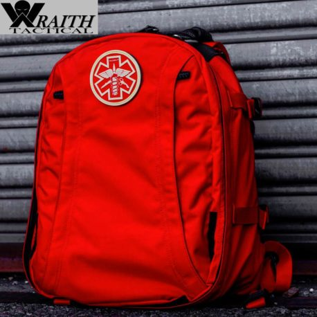 Wraith Tactical CARR Pack Gen 2+ Red Rear Closed