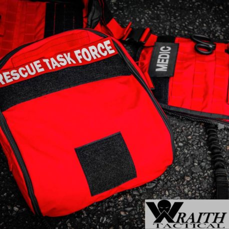 Wraith Tactical CARR Pack Gen 2+ Red With Large Utility Bag